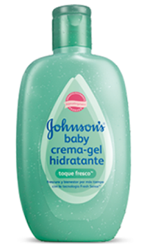 JOHNSON'S® baby crema gel hidratante toque fresco
