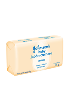 JOHNSON'S® baby jabón cremoso en barra con avena natural