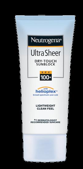 57493caa0 Descripción Puedes usar tu protector solar Ultra Sheer para proteger e  hidratar tu cuerpo y rostro de los rayos UVA UVB a los que te expones todos  los días.